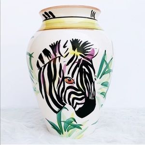 BOHO Safari Jungalow Justina Blakeney Zebra Vase